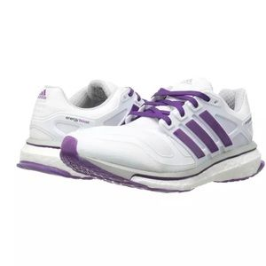 Adidas Energy Boost 2. Sz 9. White with purple